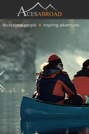 Aces Abroad - travel website design
