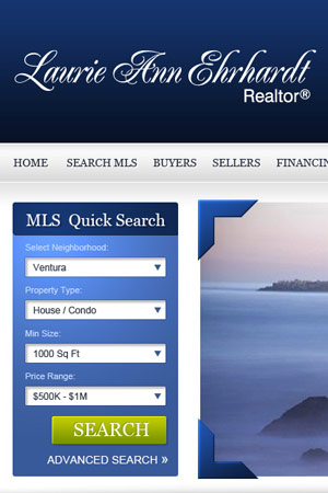 Ventura Real Estate Agent's website